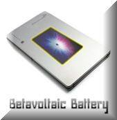 betavoltaic battery