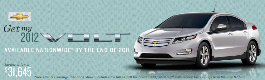 Chevy Volt by GM