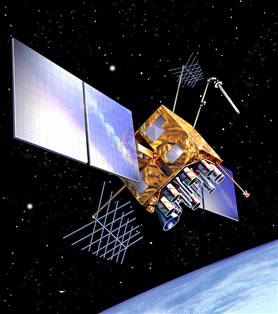 Lockheed Martin - GPS satellite